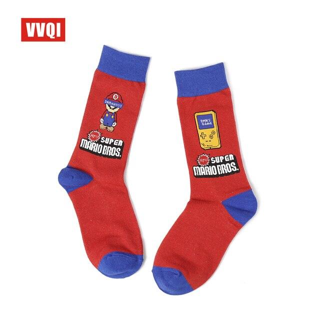VVQIharajuku kawaii pink women socks streetwear korean unicorn japanese funny socks cartoon ins rainbow cute socks cotton 5pairs