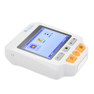 Image 5 - Heal Force Prince 180D Medical Portable ECG EKG Heart Rate Monitor LCD Chest Limb Electrocardiograph 3 channel 25pcs Lead wires