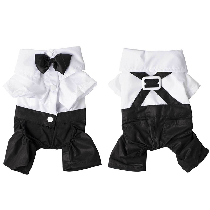 New Western Style Men\'s Suit & Bow Tie Small medium Pet Dog Clothes ...