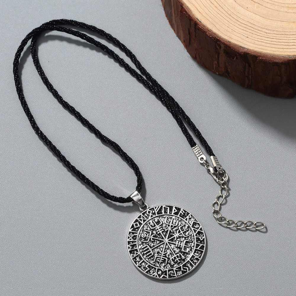 CHENGXUN Punk fajny naszyjnik zestaw antyczny urok Viking naszyjnik biżuteria prezent północnosłowiański Viking wisiorek stary naszyjnik
