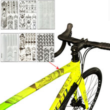 3D MTB Mountain Bike Scratch-Resistant Protect Frame Protector Removeable Sticker Road Bicycle Paster Guard Cover For YT Capra(China)