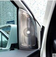 2 uds  pegatinas de audio para coche  cubierta de altavoz para Mercedes Benz Clase B  marco decorativo  accesorios de audio convertidos|Pegatinas para coche| |  -