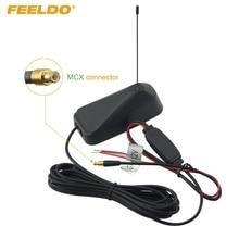 FEELDO автомобильный разъем MCX Активная телевизионная антенна со встроенным усилителем# FD-945