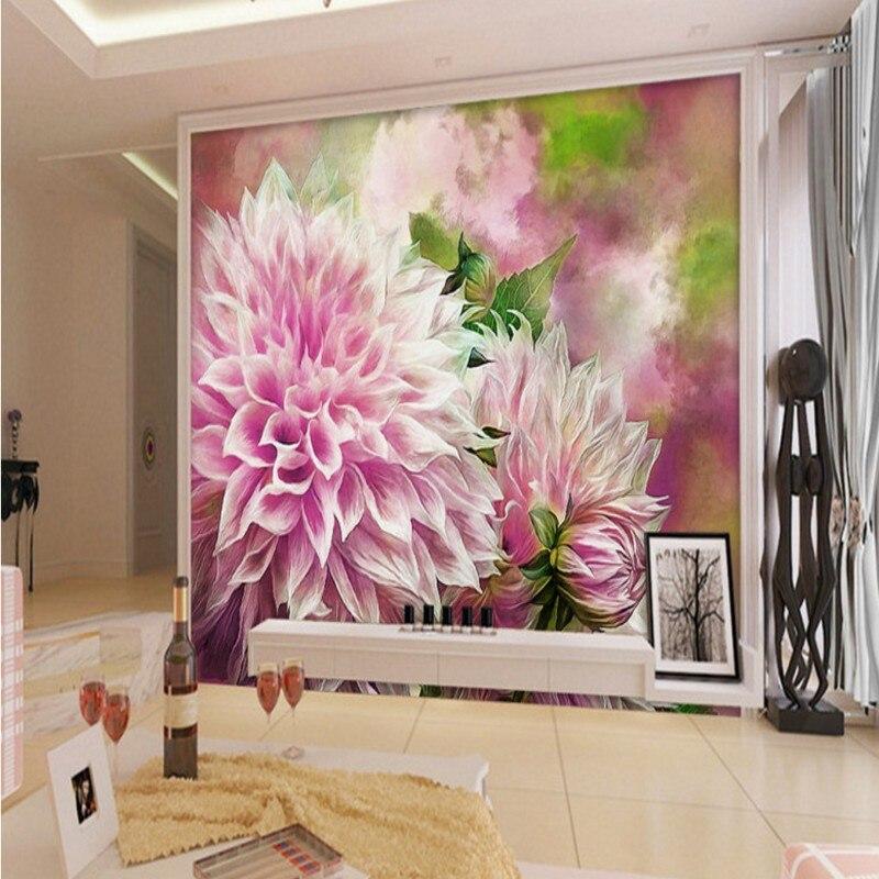 Custom photo wallpaper 3D stereo living room wallpaper ...