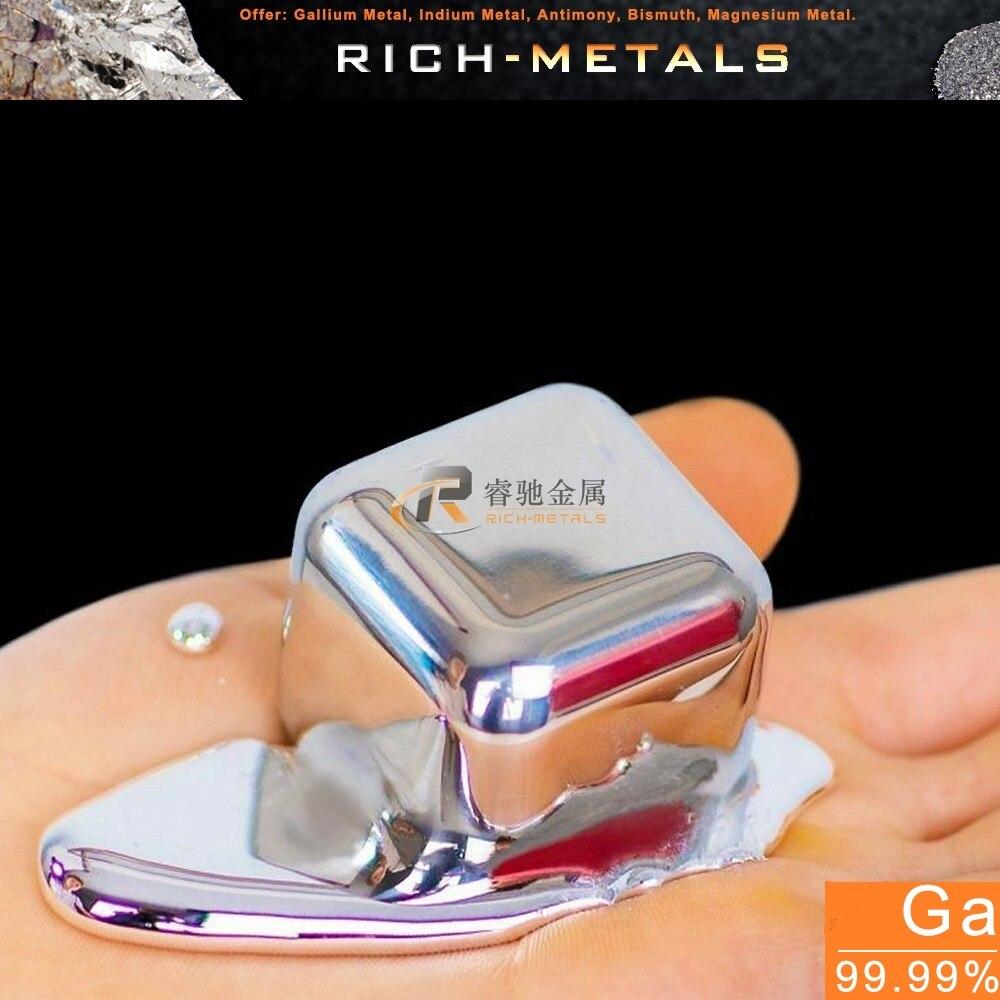 Gallium Metal 99.99 Pure 40 Grams