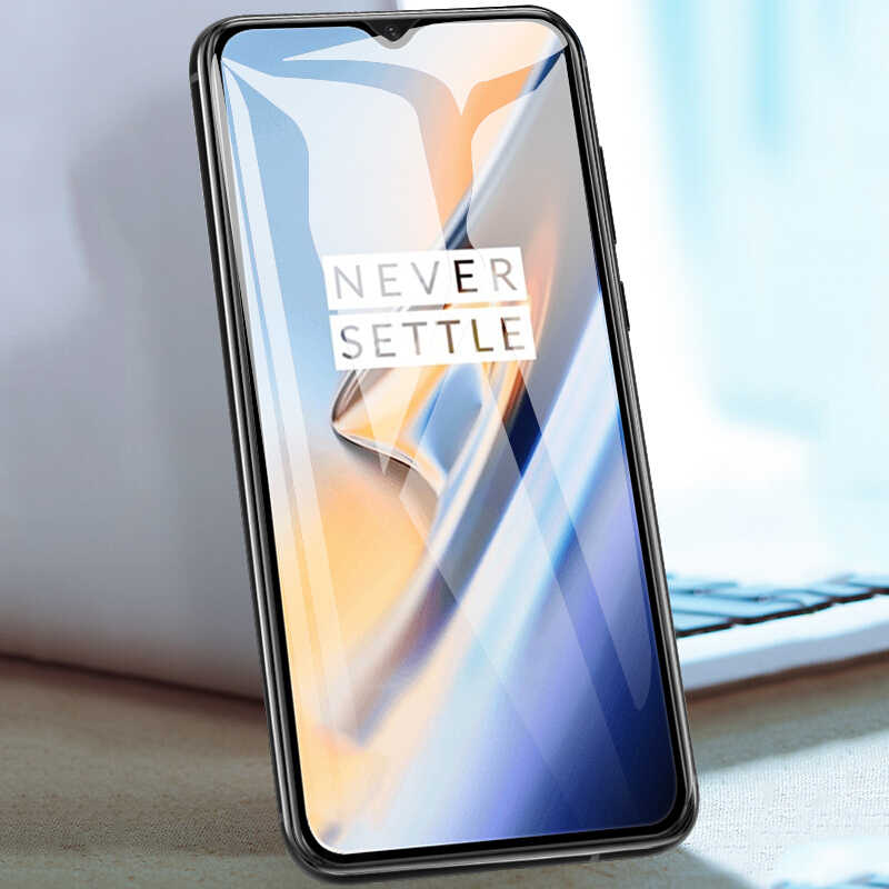 Ekdme 9 H Tempered Glass untuk OnePlus 6 T 6 5 T 5 3 T 3 untuk Satu Ditambah 5 hitam Penutup Penuh Screen Protector Explosion-Proof Kaca Film