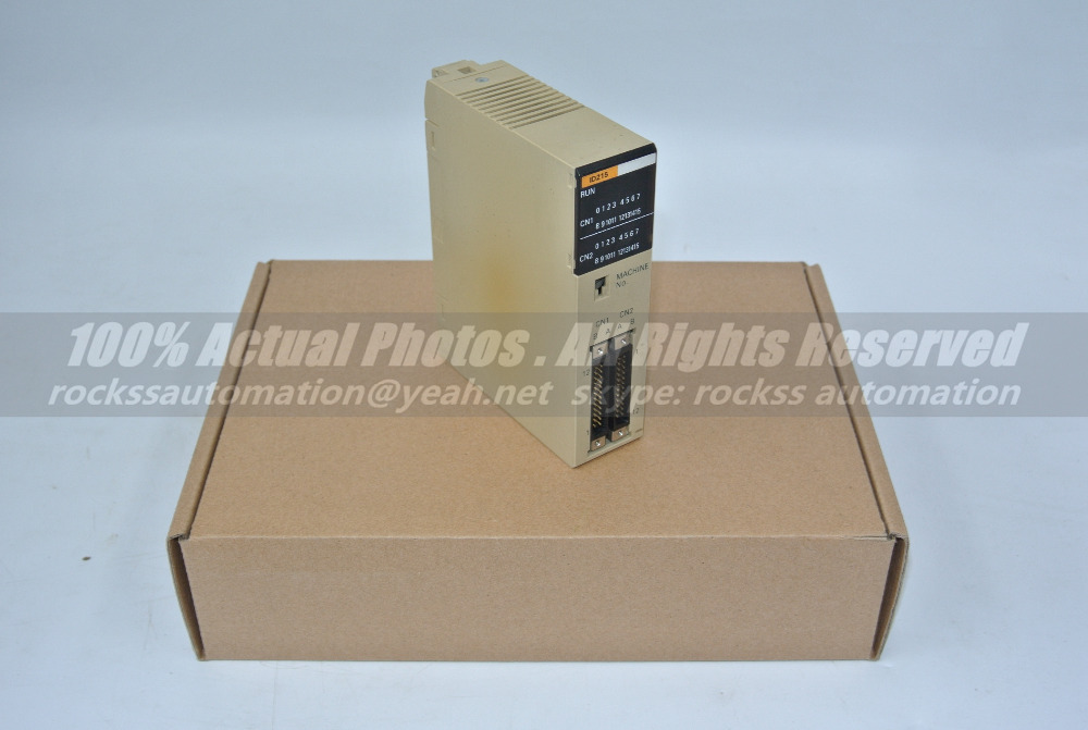 Plc Module C200H-ID215 Used Good In Condition With Free DHL / EMS dhl ems om ron new plc input unit c200h bc051 v2 c200hbc051v2 e1