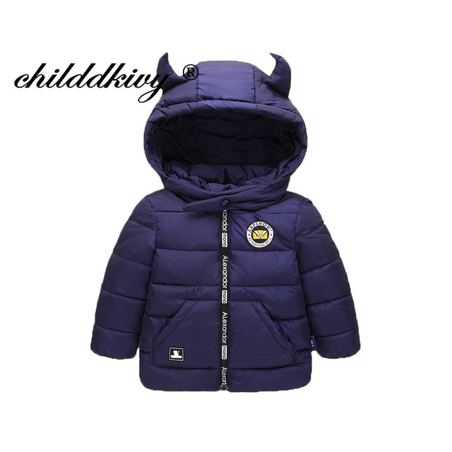 02fa8864a804 2 8 Years Children Winter Jackets 2018 Baby Girls Cotton Padded ...