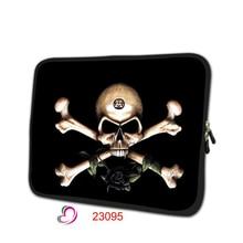 Esqueleto de impresión caja de la tableta 7 funda para portátil 7.9 portátil suave Protectora piel mini PC cubierta de la bolsa para el ipad mini 2 caso TB-23095