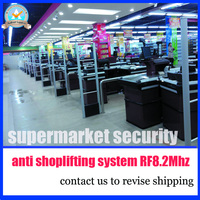 The Most Stable And Durable Supermarket Anti Shoplifting System RF 8 2Mhz Eas Security Alarm System