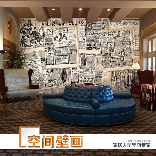 Wohnzimmer bilder fr hintergrund  3d retro nostalgie tapete wandbild wohnzimmer schlafzimmer sofa ...