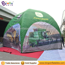 outdoor advertising event tent/ 8mts Inflatable dome spider event tent with printing toy tent