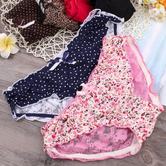 1458869aa Source https   www.aliexpress.com item Sweet-girl-Japanese-sexy-underwear- waist-hip-l-lace-flower-Ruffle-briefs-dot-Leggings 32807129185.html