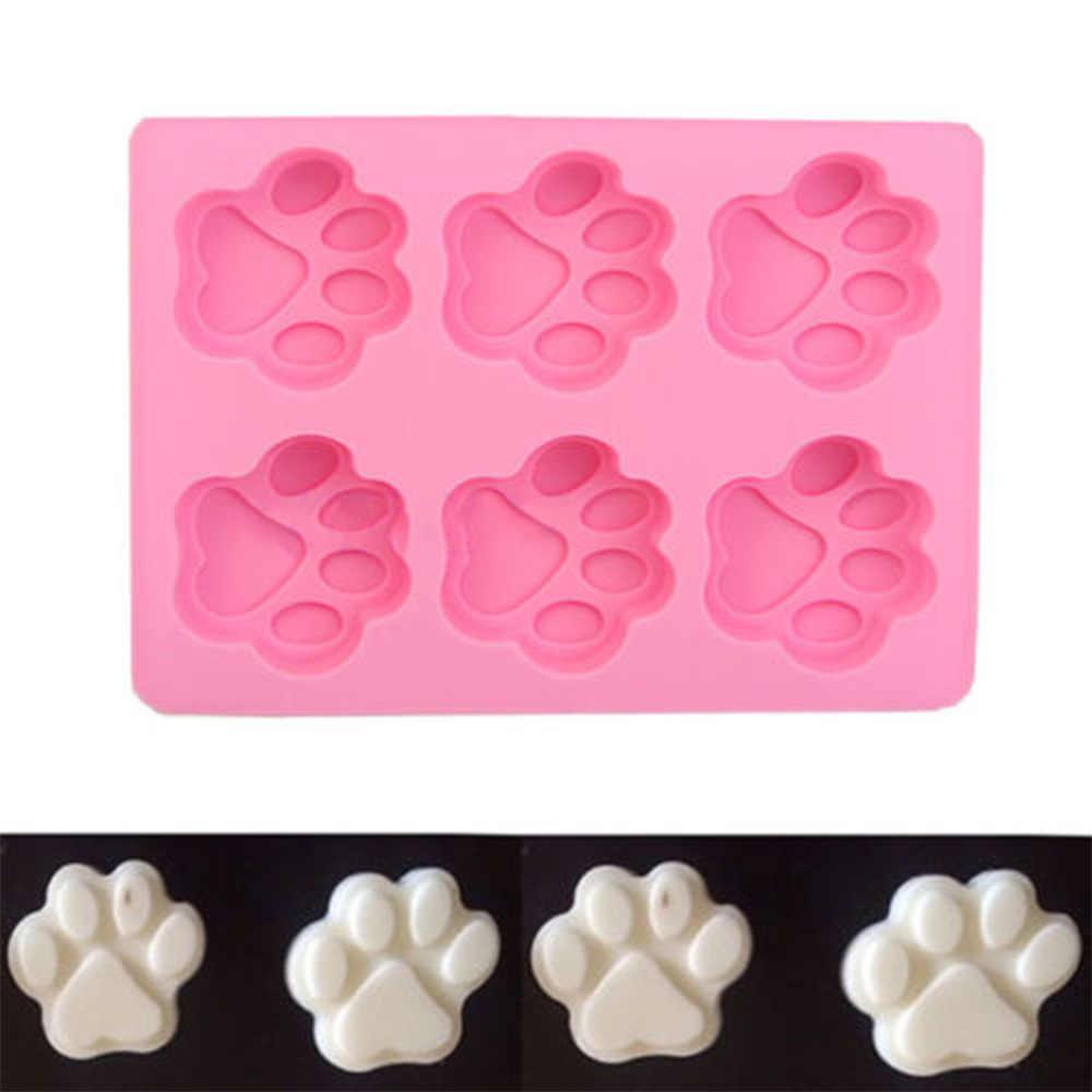 حار كوكي قوالب مخبوزة الكلب باو قالب من السيليكون أدوات تزيين الكعكة قاطعة البسكوت المعجنات ملحق اكسسوارات المطبخ