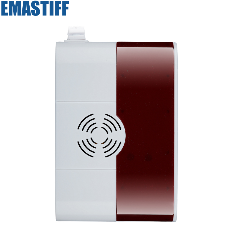 Wholesale Wireless Security  Gas Leak Detector Alarm Sensor for our gsm pstn alarm system golden security lpg detector wireless digital led display combustible gas detector for home alarm system