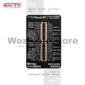 Image 2 - QianLi iBridge FPC câble de Test pour iphone 6 6S 7 7P 8 8p x xs max carte mère vérification des défauts tactile avant arrière caméra empreinte digitale