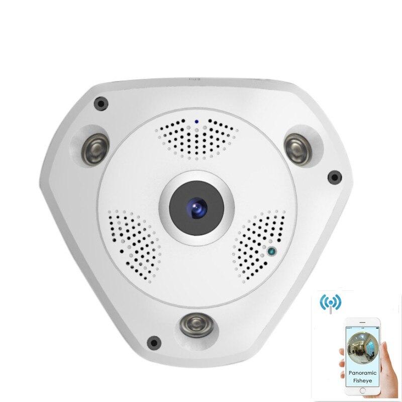 VR 360 HD Security Camera wireless WIFI panoramic Home Security Surveillance System 960P IP Camera Panorama Camera Night Vision