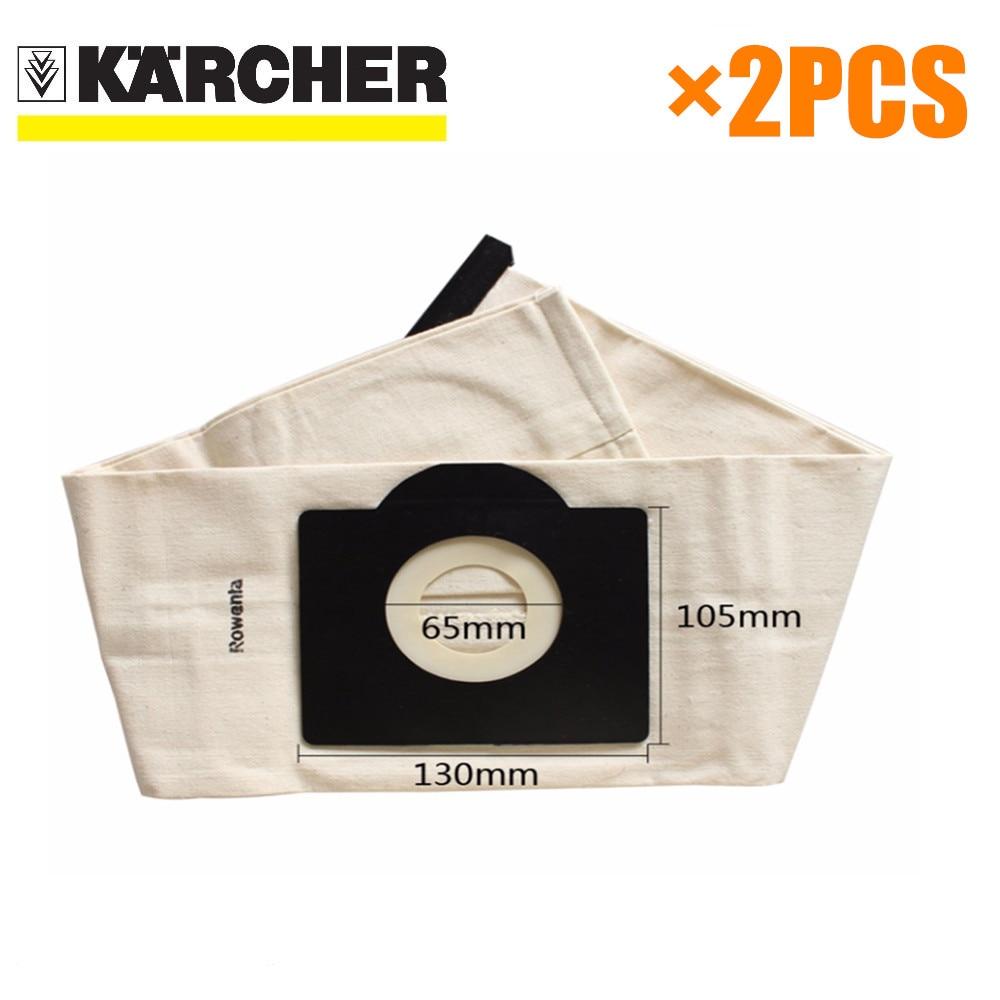 1 pcs Washable filter Bags for Karcher WD3 Rremium WD3200 SE4001 ...