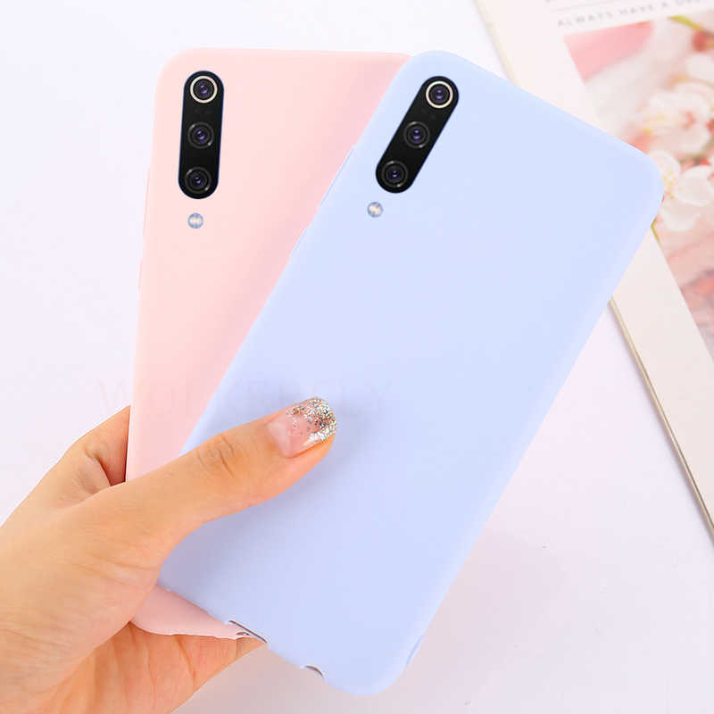 Soft Silicon Case for Xiaomi Mi 9 8 Lite 6X A2 A1 5X Max3 Back Cover On Redmi Note 5 6 7 Pro Redmi 5 Plus Redmi Go 4A 5A 4X Case
