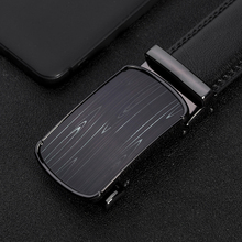 Mens Belts genuine leather High Quality Black male belts for men Automatic Buckle designer luxury strap vintage