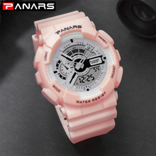 лучшая цена 2019 Luxury Women Digital Watches relogio feminino LED Waterproof Quartz Watch Sports Electronic Wrist Watch Clock Reloj Mujer