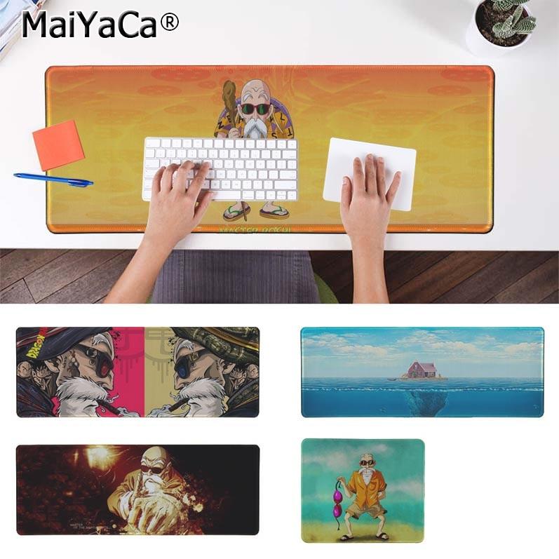 MaiYaCa Cool New Dragon Ball Master Roshi Natural Rubber Gaming mousepad Desk Mat Free Shipping Large Mouse Pad Keyboards