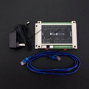 Image 5 - DFRobot 8 Channel Ethernet Relay Controller RLY 8 POE USB, STM32 input 7~23V/44~57V Relay 277V 10A/125V 12A Support PoE and USB