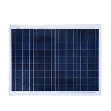 solar panel 12v 50w poly 2 pcs/lot panneau solaire 100w 18v mini off grid solar system painel solar fotovoltaico  Cheap China
