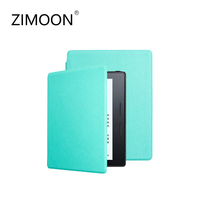 Zimoon Case For Amazon Kindle Oasis Ultra Slim Leather 6 E Book Reader Cover With Auto