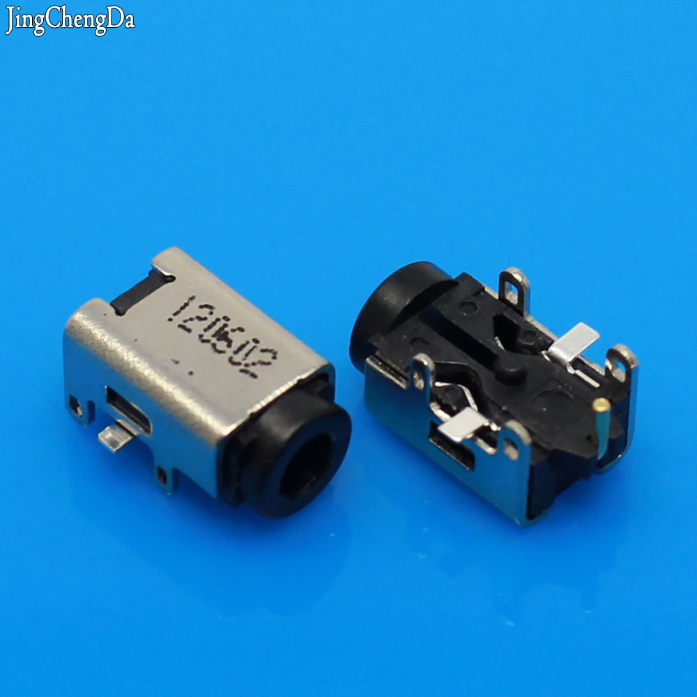 Jing Cheng Da 10pcs DC POWER JACK CONNECTOR for Asus EEE PC 1001,1002,1003,1004,1005,1008,1015,1101,1201,1215 Series аккумулятор 4parts lpb 1015 black для asus eee pc 1015pe 1015ped 1015pn 1015pw 1015t 1015b 1016 1215n 1215p 1215t vx6 series 11 1v 4400mah