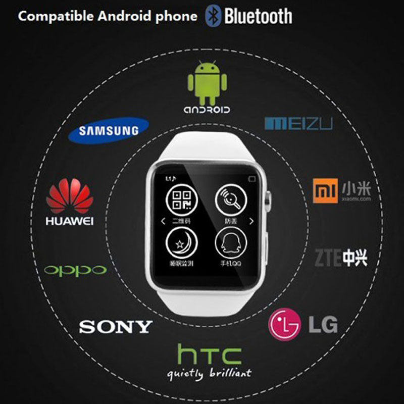 New Bluetooth Smart Watch G868 IPS screen wristwatch font b smartwatch b font camera sim card