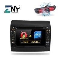 7 Android 8.0 7.1 Car GPS Radio For Fiat Ducato Citroen Jumper Peugeot Boxer Auto PC DVD Audio Video Navigation Reverse Camera
