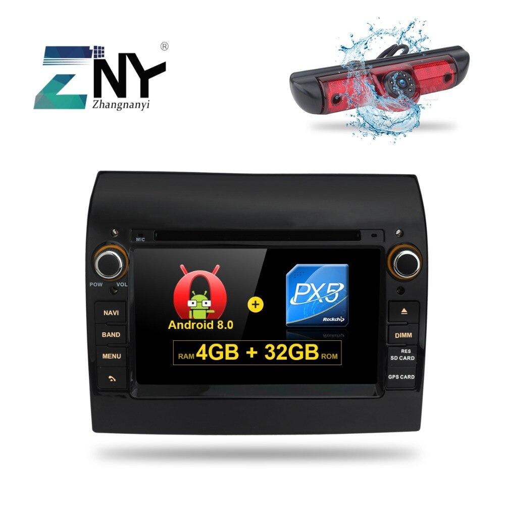 7 Android 8.0 7.1 Voiture GPS Radio Pour Fiat Ducato Citroen Jumper Peugeot Boxer Auto PC DVD Audio Vidéo navigation Caméra de Recul