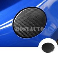 For Toyota 86 GT86 Scion FR S Carbon Fiber Fuel Filler Cover Gas Tank Cap Cover 2012 2019 1pcs Black/Red