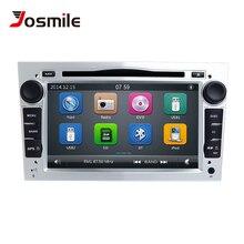 цены на Josmile 2 Din Car Radio Multimedia Player For Opel Vectra C Zafira B Vivaro Astra H GJ Corsa B C D Meriva BAntara DVD Navigation  в интернет-магазинах