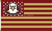 Boston College Eagles com EUA Bandeira Das Listras Das Estrelas Da Bandeira  DA NCAA New 3x5FT 90x150 cm Poliéster 9011 1cd63ddeac1