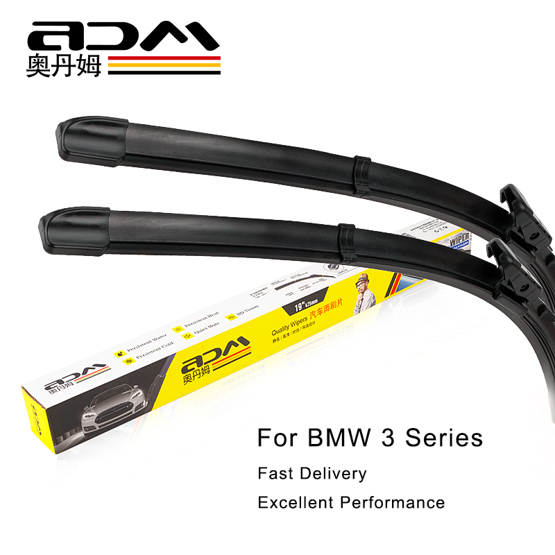 Car Front Window <font><b>Windshield</b></font> <font><b>Wiper</b></font> Blades For <font><b>BMW</b></font> 3 Series E90 <font><b>F30</b></font> 330I GT LI 2004-2018 Auto Accessories Styling image
