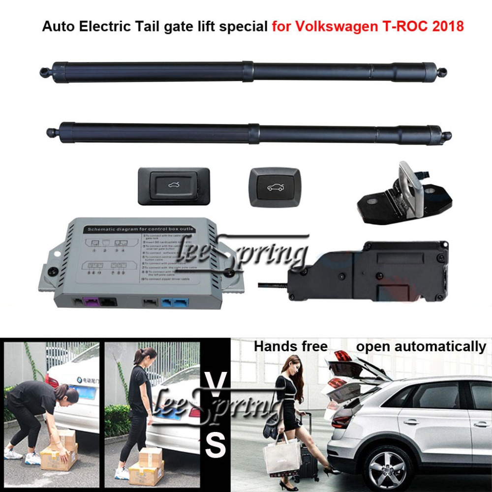 Car Electric Tail Gate Lift Special For Volkswagen T-ROC 2018 Easily For You To Control Trunk