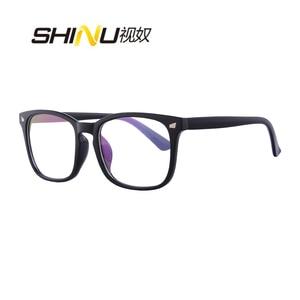 Image 5 - 抗ブルーレイ多焦点プログレッシブ老眼鏡女性男性リーダー UV400 抗疲労参照遠参照近く視度眼鏡