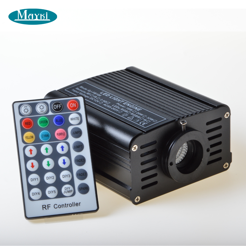 Maykit Fun fitness волоконно оптические сенсорные игрушки для детей с безопасным 3*0,75 мм волоконно оптическим кабелем 16 Вт RGB Оптическое волокно светодиодный излучатель - 4