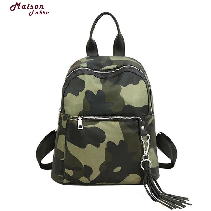 Maison Fabre New Women Girl Backpack Travel PU Leather Rucksack Shoulder School Bag 824#23