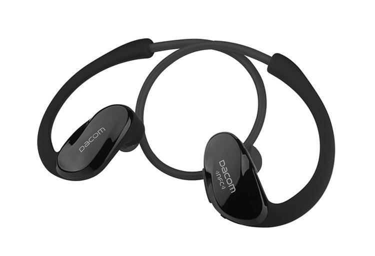 Dacom NFC Cordless Ear Hook Sport Bluetooth 4.1 earpiece Sweatproof Wireless Hifi Bass Headphones With Microphone (15)