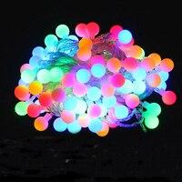 Mới lạ Ngoài Trời chiếu sáng LED Bóng dây đèn chiếu sáng 10 m 100 leds Christmas Lights tiên wedding vườn mặt dây chuyền vòng hoa trang trí
