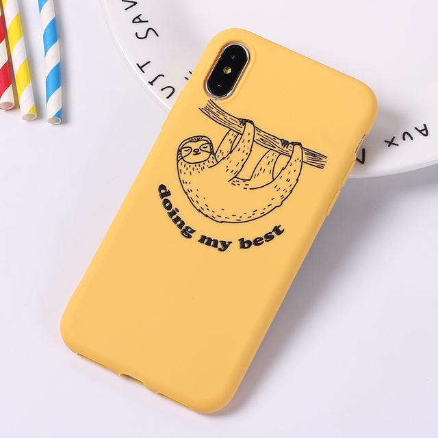 Cute Cat Printed Phone Case