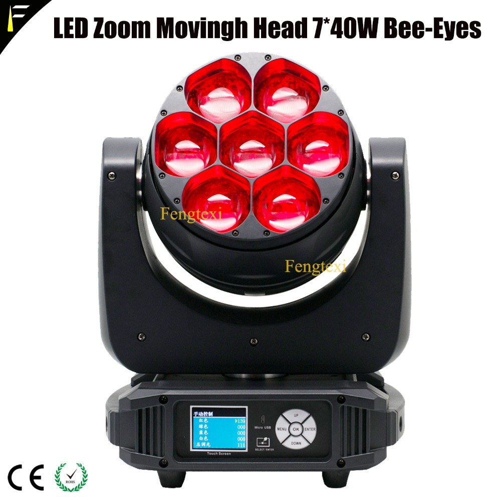 LED Zoom Movingh Head 7x40W Bee Eye2
