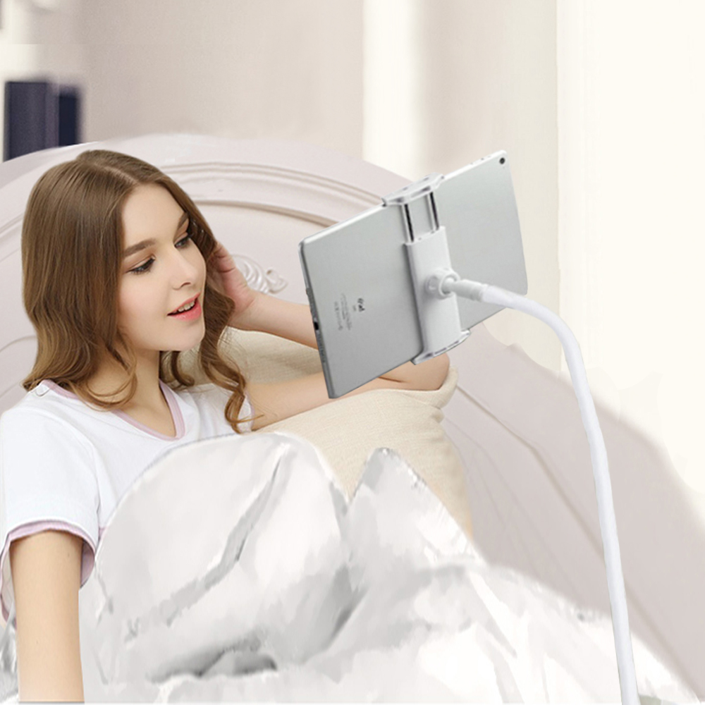 Holder Flexible Long Arms cell Phone Desktop Bed Lazy Bracket Mobile Stand Support for LG Exalt Fiesta 2 Grace LTE GSM Harmony