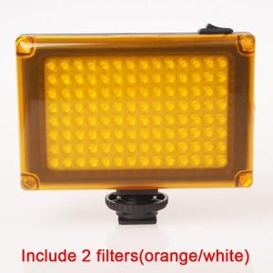 Image 2 - Ulanzi 112 מיני LED וידאו דו צבע צילום אור עבור מצלמה DV מצלמה אור עם מסנני Youtube Vlogging חתונה