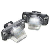 2Ps LED License Plate Light 18SMD Number Plate Light For VW Transporter T4 Caravelle MK4 Multivan