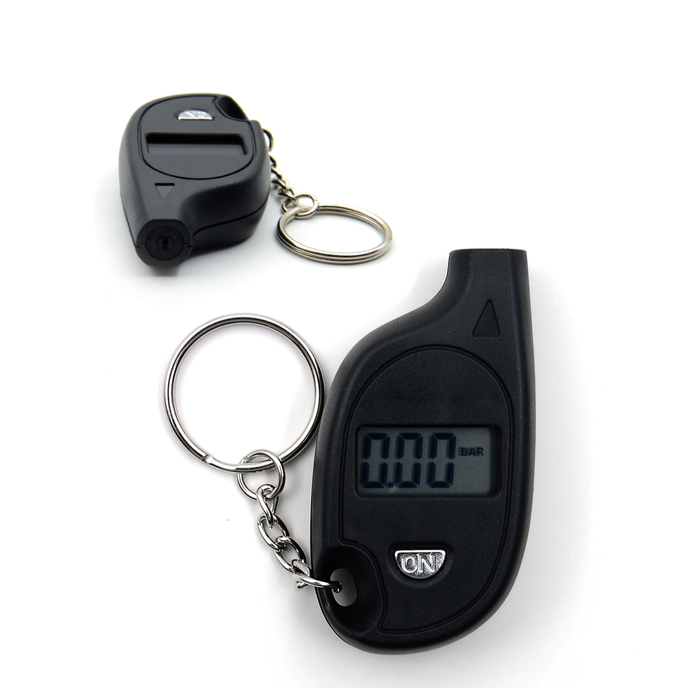 Image 3 - 2018 New Arrival Mini LCD Digital Tire Tyre Keychain Air Pressure Gauge For Car Auto Motorcycle CNP Free Shipping-in Tire Pressure Alarm from Automobiles & Motorcycles