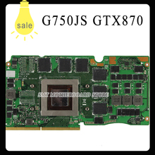 G750JS VGA Graphic card Video card GTX870M DDR5 3GB N15E GT A2 For Asus G750JS laptop